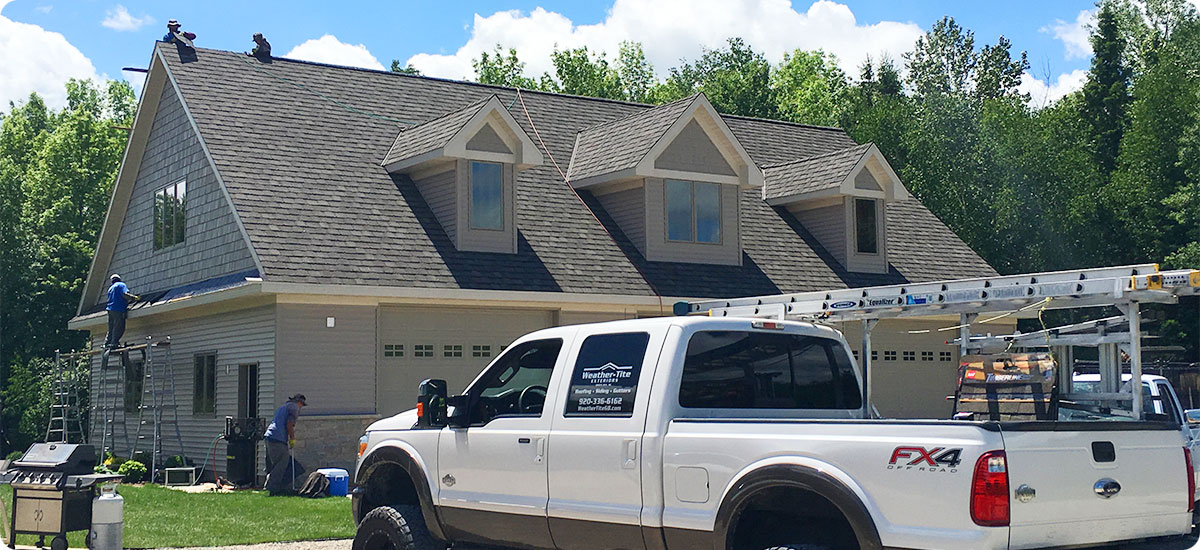 Green Bay Roofing Contractor Replacement Roofs Weather Tite Exteriors